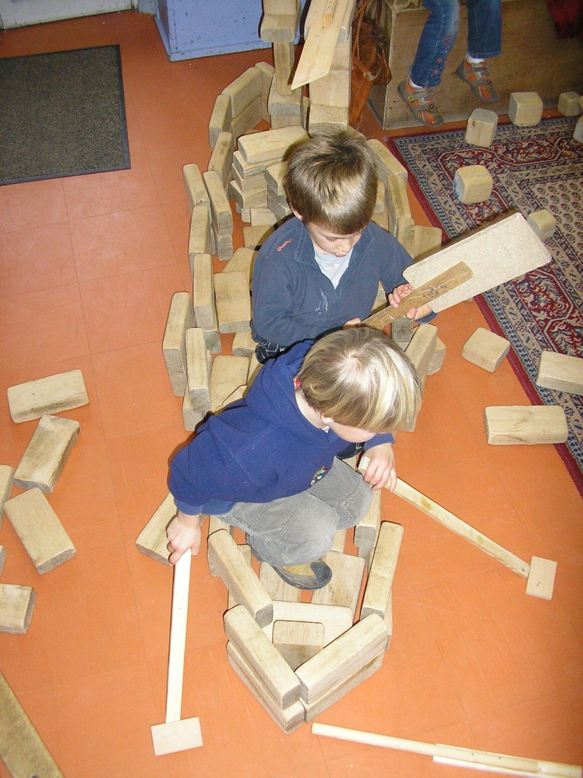 En maternelle : des activités libres